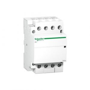 Schneider Electric Gc4040 m5 Contacteur 40 A 220/240 V, Modular Cont. 4 No 40 A Bâtons