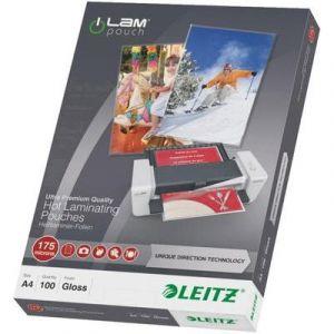 Leitz Pochettes de plastification A4 175 microns iLAM