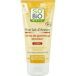 So'Bio Étic Mon Lait d'Ânesse - Crème de gommage douceur corps