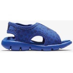 Nike Kindersandale Sunray Adjust 4, Sandales Bride Cheville Mixte Enfant, Bleu (Game Royal/Obsidian-414), 23.5 EU