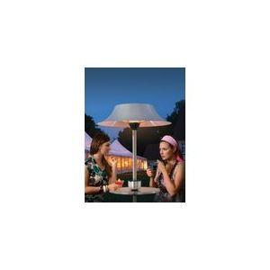 Alpina Parasol chauffant électrique fonction table et cendrier 3000 Watts