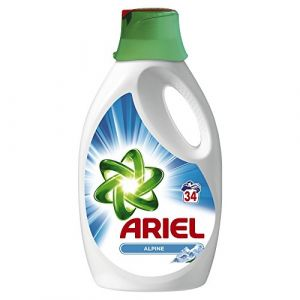 Ariel Lessive liquide Alpine 34 lavages 2,5 L - lot de 2