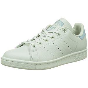 Adidas Stan Smith, Baskets Garçon, Vert (Linen Green/Linen Green/Tactile Green), 38 2/3 EU
