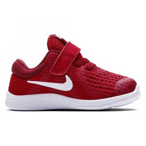 Nike Chaussures running Revolution 4 Tdv - Gym Red / White - Taille EU 18 1/2