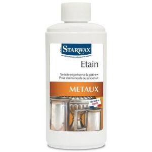 Starwax Nettoyant métaux spécial étain 250 ml