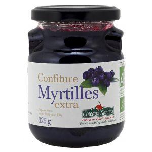 Côteaux nantais Confiture myrtilles extra Bio 325g