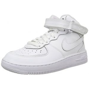 Nike Air Force 1 Mid Enfant Blanche 30 Baskets