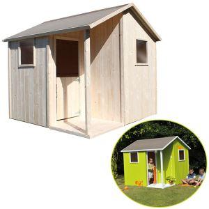 Soulet Lisa - Maisonnette en bois pour enfant