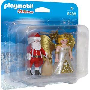 Playmobil 9498 - Christmas - Duo Père Noël et Ange - 2019