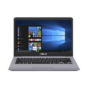 """Asus Vivobook S14 S410UN-EB037T Ultrabook 14"""" Full HD Gris métal (Intel Core i7, 8 Go de RAM, Disque dur 1 To + SSD 128 Go, Nvidia GeForce MX150 2G, Windows 10) Clavier Français AZERTY"""