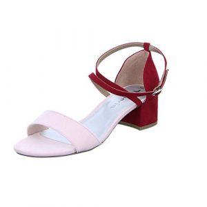 Tamaris 1-28237-22 Sandales Mode Femme, schuhgröße_1:39 EU, Farbe:Rouge