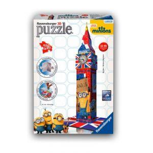 Ravensburger Puzzle 3D Big Ben Minions (216 pièces)