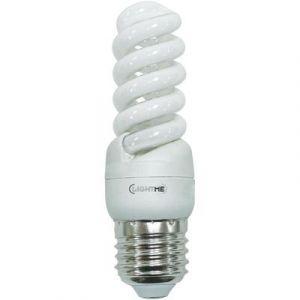 LightMe Ampoule à économie d'énergie E27 11W forme spiralée