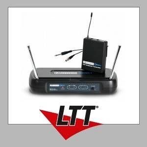 LD Systems LDWSECO2BPG2 Série ECO 2 Système de Micro sans fil avec Émetteur Ceinture/Câble Guitare