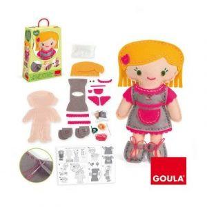 Goula Kit de couture Couds ta poupée Bibi