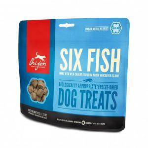 Orijen Six Fish Friandises pour chien 42.5 g