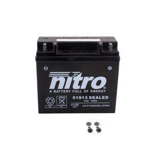 Nitro Batterie 51913 SEALED ferme Type Acide Sans entretien