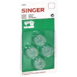 Singer 613024 - Canette haute x 4 pour machine à coudre