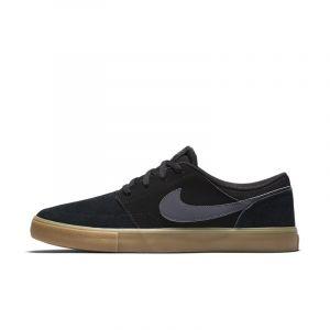Nike SB Portmore II Solar, Chaussures de Skateboard Homme, Noir