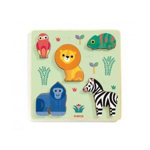 Djeco Puzzle en Bois - Emilion