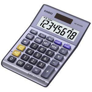 Casio MS-80VERII - Calculatrice de bureau avec Conversion monétaire