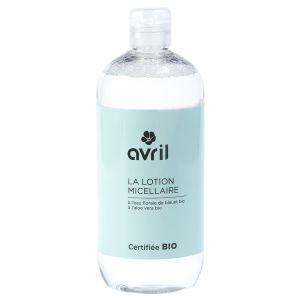Avril La Lotion Micellaire à l'eau florale de bleut et aloe vera Certifiée Bio