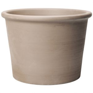 Deroma Pot cylindrique gris gamme Bordato primitivo Ø 38 cm
