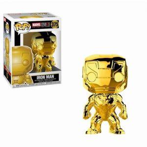 Funko Figurine Pop! Iron Man Chrome Marvel Studios 10 ans