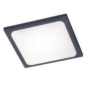 Trio Trave anthracite Aluminium 620160142 - Plafonnier extérieur LED