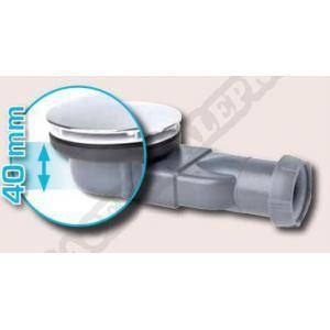 Wirquin Bonde de douche pour receveur extra-plat Slim diam. 90 mm