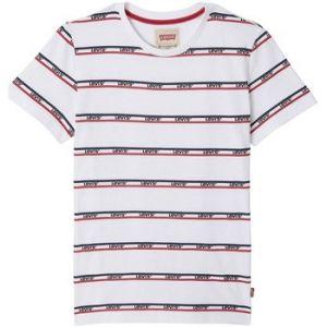 Levi's T-shirt enfant SS TEE BANDERO blanc - Taille 4 ans,5 ans,6 ans,8 ans,12 ans,14 ans,16 ans