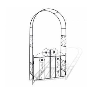 VidaXL 40784 - Arche de jardin avec la porte