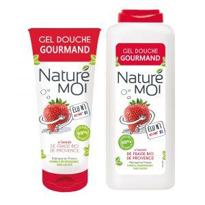 Naturé Moi Gel douche gourmand à l'extrait de fraise bio de provence