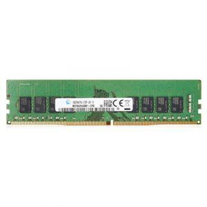 HP DDR4 - 16 Go - DIMM 288 broches - 2666 MHz / PC4-21300 - 1.2 V - mémoire sans tampon - non ECC - - pour Desktop Pro A G2, EliteDesk 705 G5, 800 G5, ProDesk 400 G6, 600 G5, Workstation Z1 G5