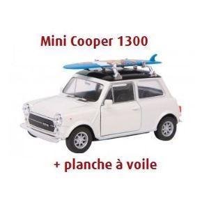 Legler 9323 - Voiture miniature Mini Cooper 1300 + planche à voile