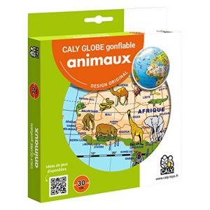 Caly Globe gonflable animaux