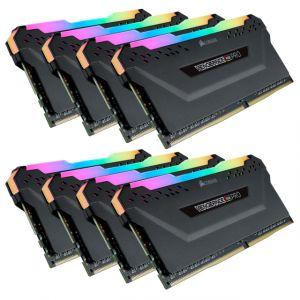 Corsair DDR4 Vengeance RGB PRO Noir 8 x 8 Go 3600 MHz CAS 18