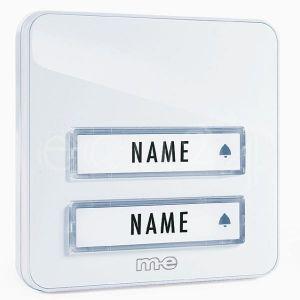 M-e Émetteur blanc pour maison à deux foyers