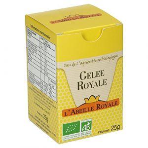 L'Abeille Royale Gelée Royale BIO boite 25 g