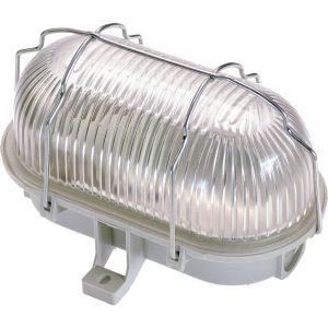 AS - Schwabe Luminaire pour pièces humides LED E27 60 W gris clair