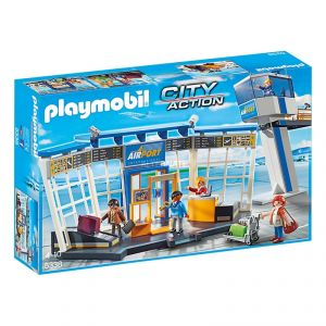 Image de Playmobil 5338 City Action - Aéroport avec tour de contrôle
