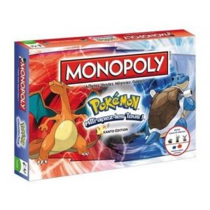 Image de Winning Moves Monopoly Pokémon édition de Kanto