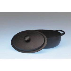 Skeppshult Cocotte ovale en fonte (2 L)