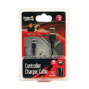 Under Control Câble chargeur en USB pour PS3, PC