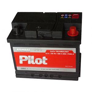 Rombat Batterie voiture P260 12v 60ah 480A 242x175x190mm