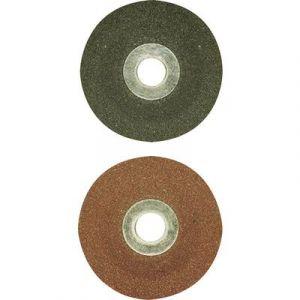 Proxxon micromot Disques de ponçage en corindon raffiné pour LWS