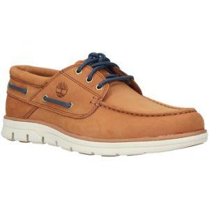 Timberland Bradstreet-3-EYE', Chaussures Bateau Homme, Marron (Argan Oil 9jk), 45.5 EU