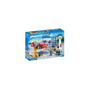 Playmobil 70202 Garage automobile City Life Bleu
