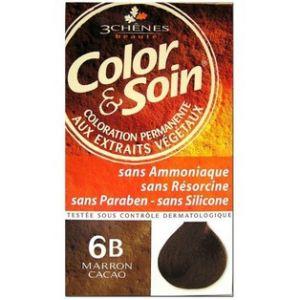 Les 3 chênes Color & Soin 6B marron cacao - Coloration permanente