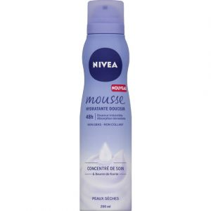 Nivea Mousse hydratante douceur peaux sèches